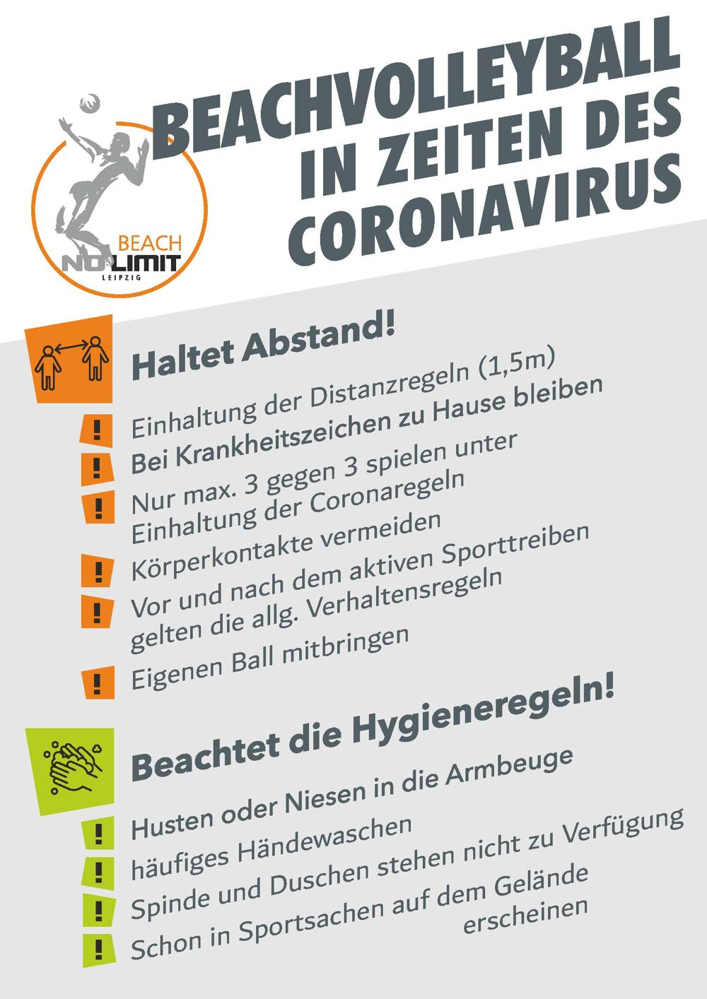 Beachvolleyball Coronavirus